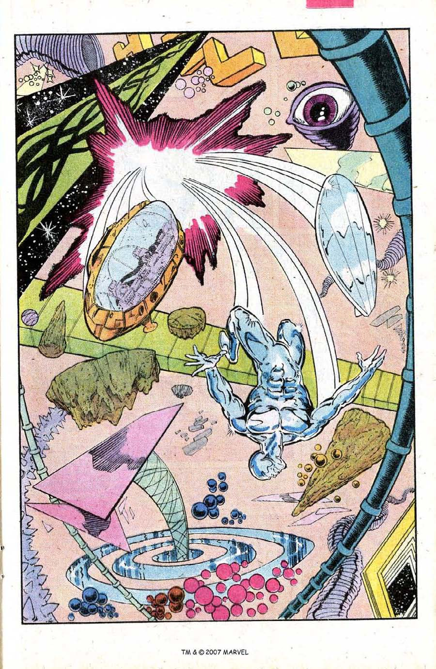 Read online Silver Surfer (1987) comic -  Issue #15 - 17