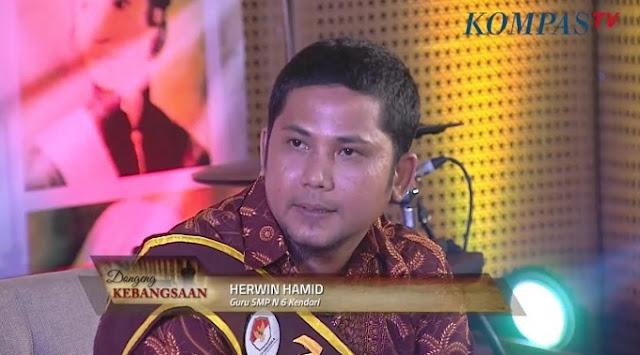 Herwin Hamid menjadi Narasumber dalam Dongeng Kebangsaan Kompas TV