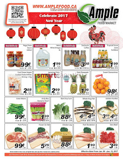 Ample weekly Flyer January 6 – 12, 2017