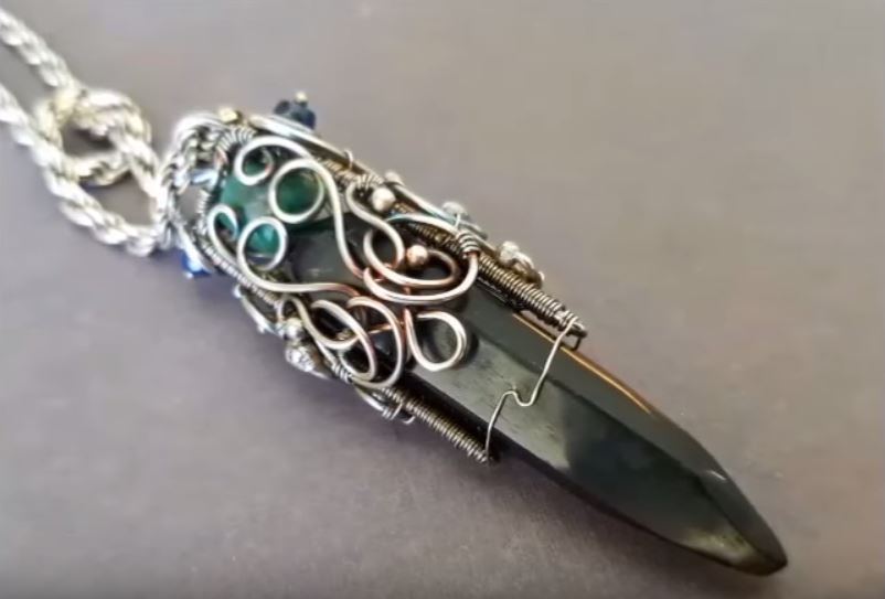 3 wire wrapping crystal point pendants tutorials the beading gems 3 wire wrapping crystal point pendants tutorials aloadofball Image collections