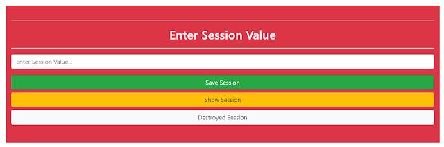 Session in php | vrsavani blog | use of session