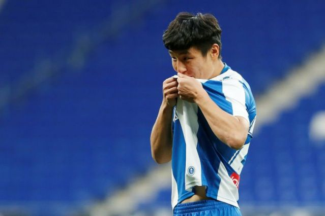 Wu Lei is out of the China Cup