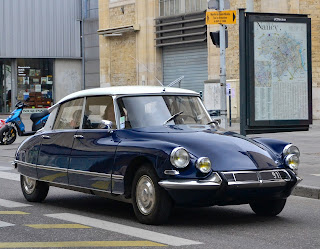 Bertoni's Citroën DS was named 'the most beautiful car of all time' by the magazine, Classic and Sports Car