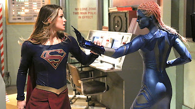 Supergirl and Indigo
