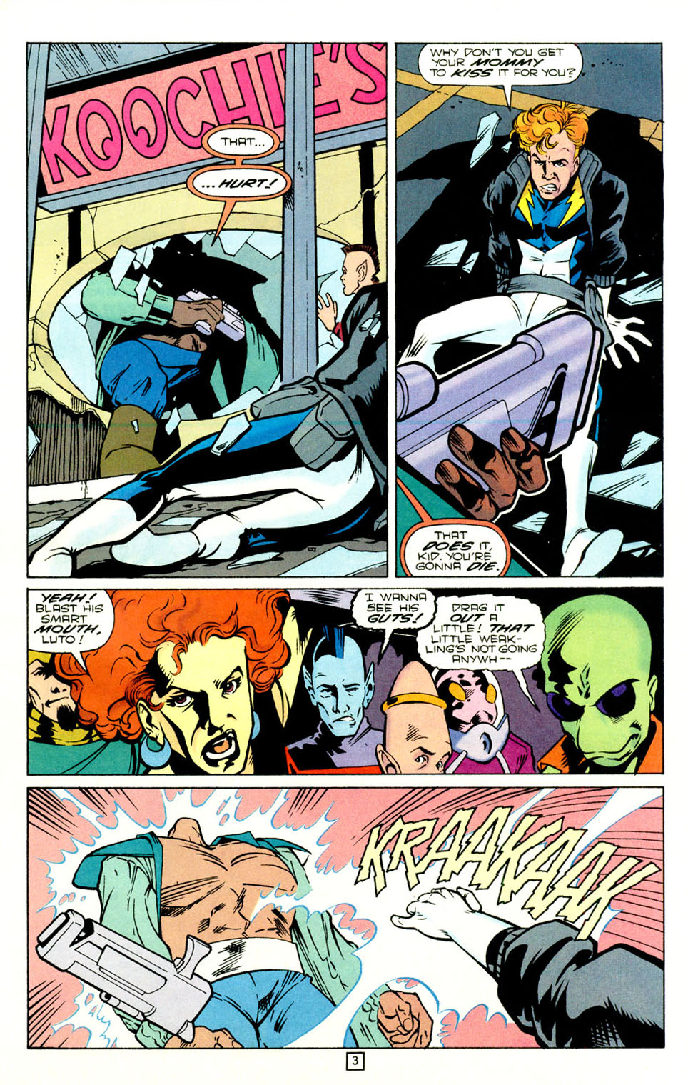 Legion of Super-Heroes (1989) 73 Page 3