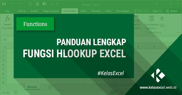 Rumus HLOOKUP Excel, Contoh dan Cara Menggunakan Fungsi Hlookup Excel