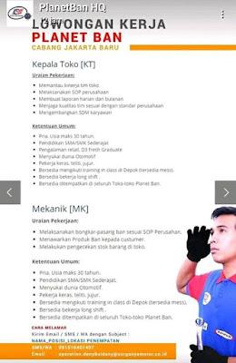 PT. Surganya Motor Indonesia atau lebih dikenal dengan nama Planet Ban merupakan toko retail yang menyediakan berbagai jenis ban untuk kendaraan roda 2 atau sepeda motor.