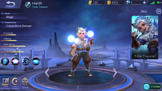 Build Item Harith Mobile Legends: Si Kecil Penjelajah Waktu