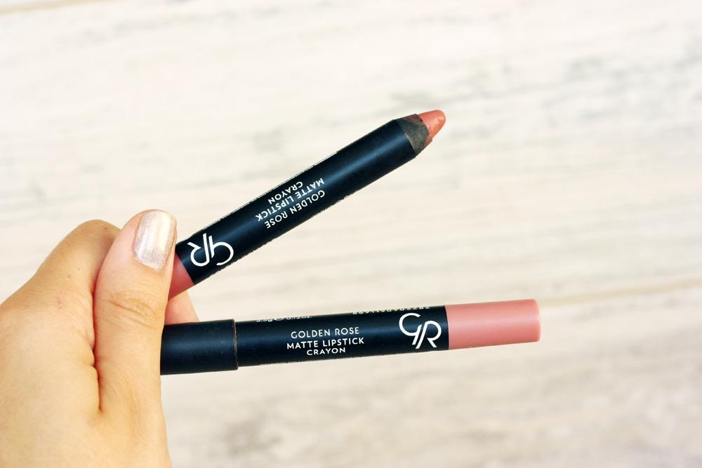 tanie-kosmetyki, golden-rose-matowa-pomadka-w-kredce, matte-lipstick-crayon