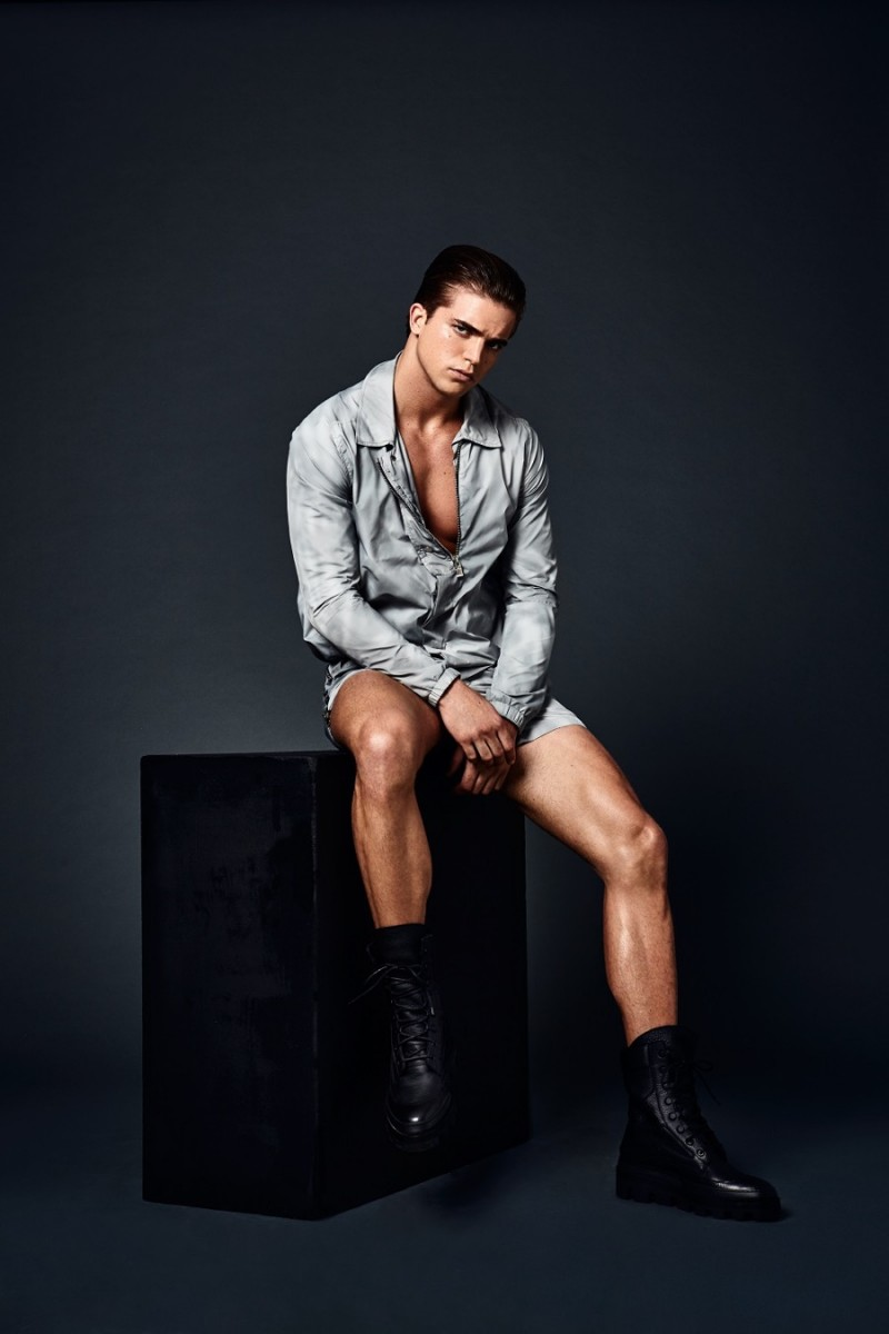 RIVER VIIPERI ON THE COVER OF ATTITUDE SPECIAL EDITION