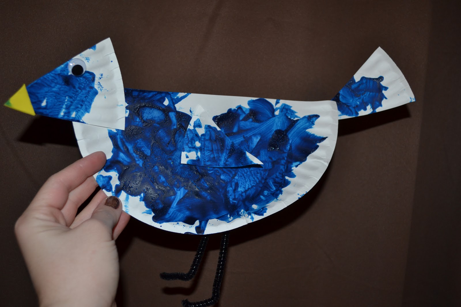 Blue Bird Arts And Crafts
