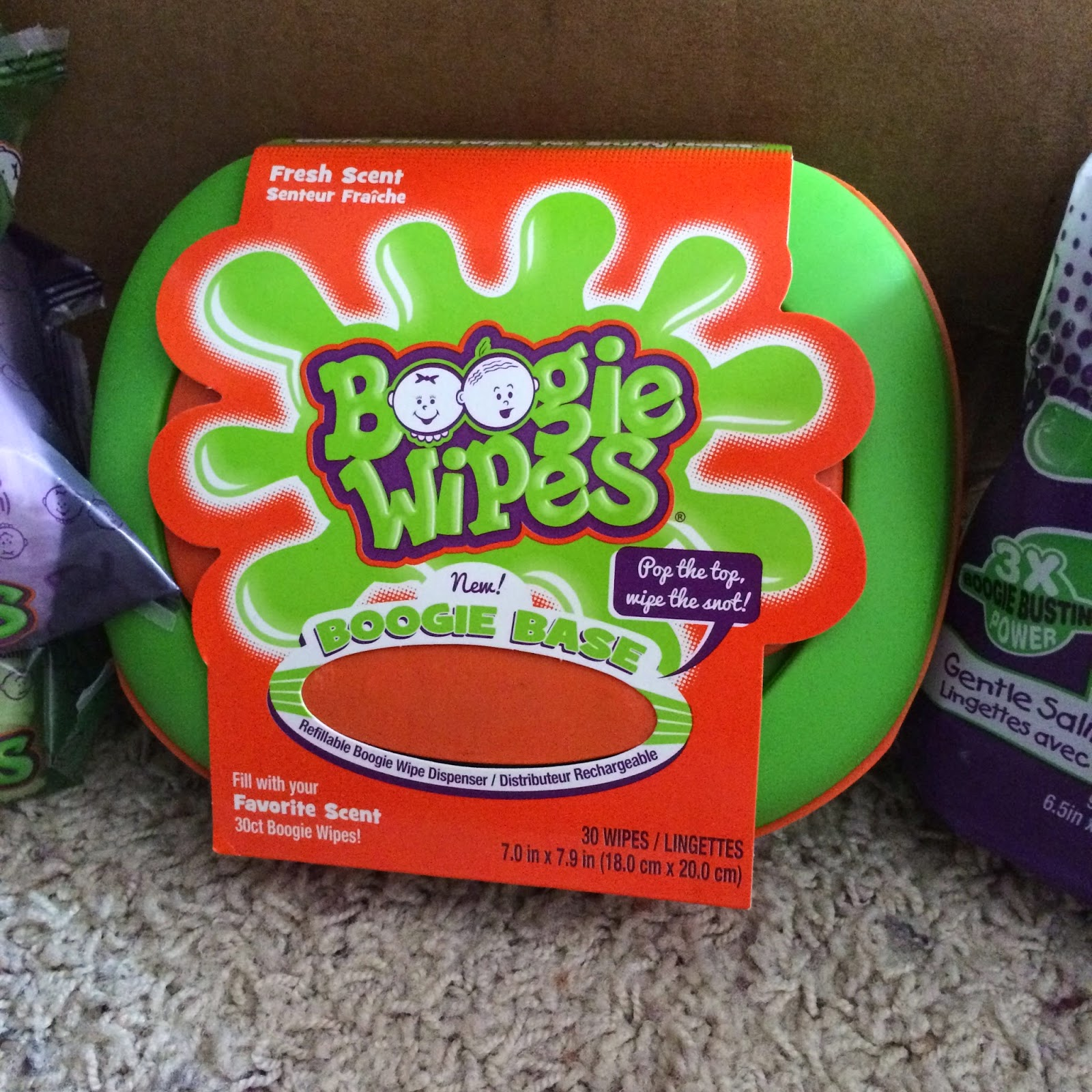 refillable dispenser #boogiewipes