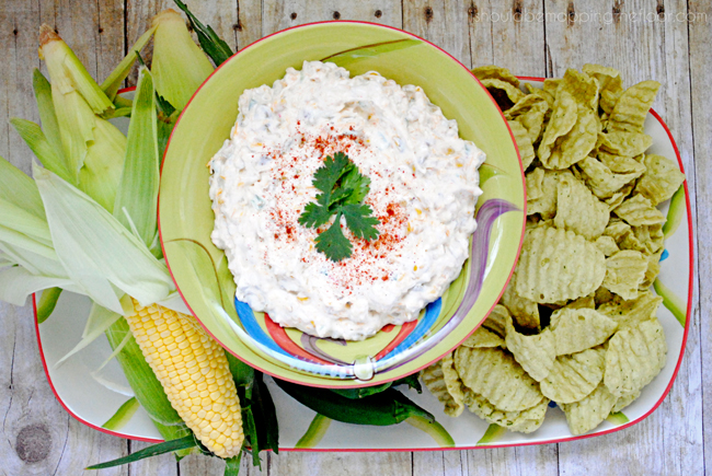Southwest Corn Dip: a super easy crowd-pleaser with lots of yum!