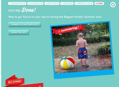 Target Summer Fun App