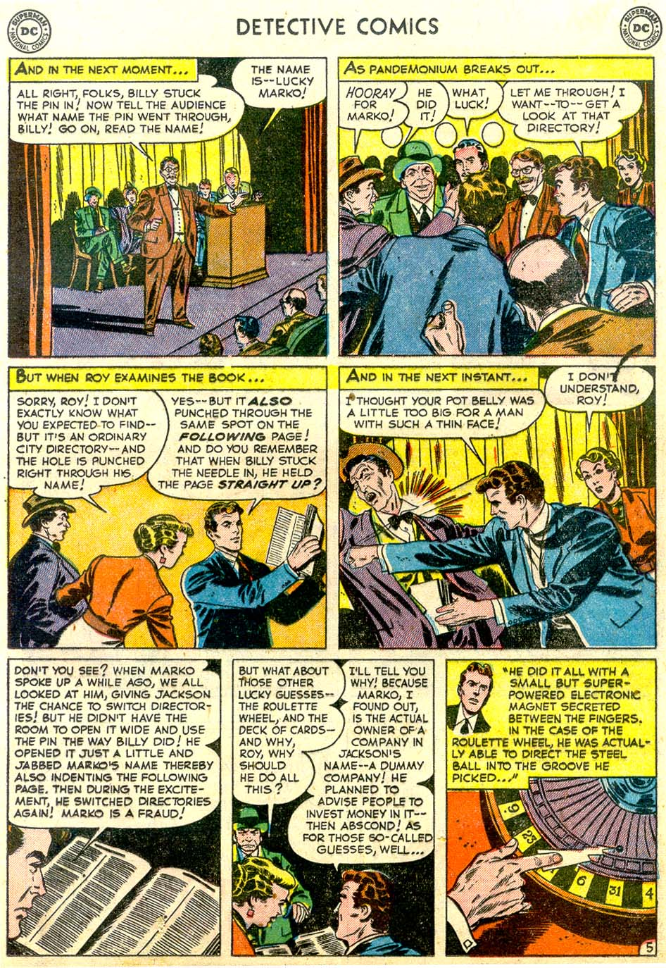 Read online Detective Comics (1937) comic -  Issue #179 - 21
