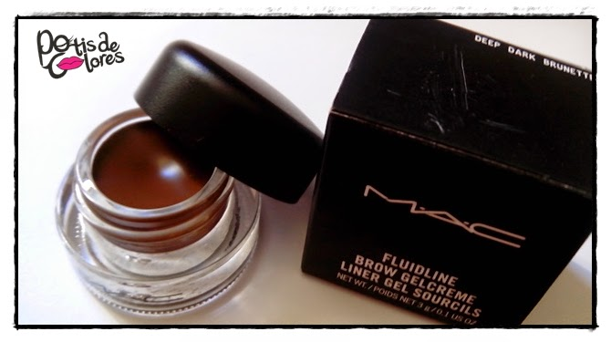 How to use mac fluidline brow