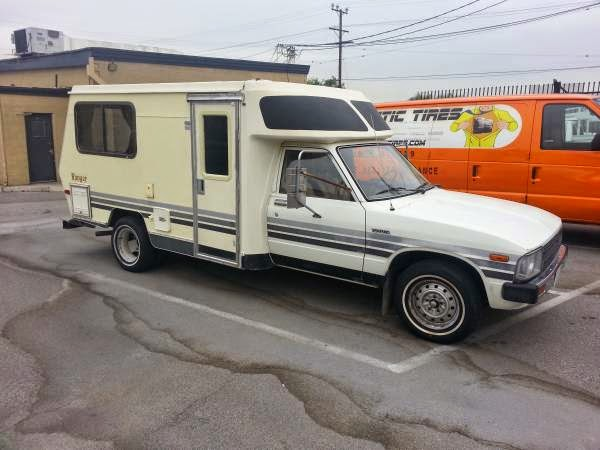 used rvs 1983 toyota ranger rv for sale by owner. Black Bedroom Furniture Sets. Home Design Ideas