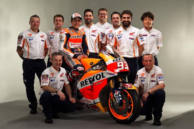 berita motogp Marquez : Saya tidak mudah mendapatkan juara dunia