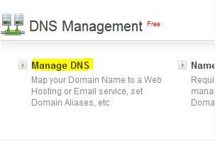 Manage DNS of Blogger with Bigrock