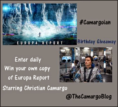 Great Giveaway for Christian Camargo's Birthday!