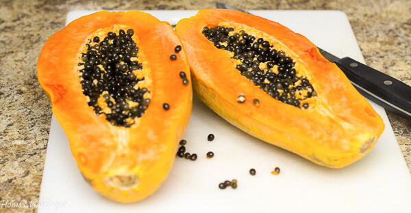 Recipe for making papaya drink