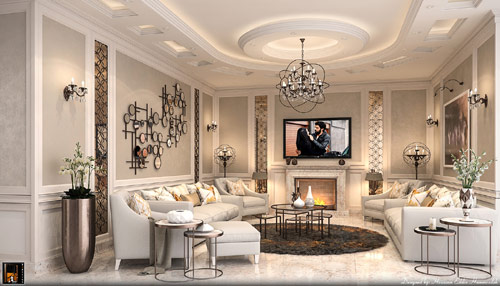 How to add the neoclassical interior design style for your for Neo inspiration interior design