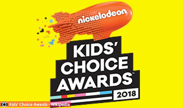 لائحة المترشحين لجوائز اختيار الأطفال او كيدز تشويس اواردز لعام 2018