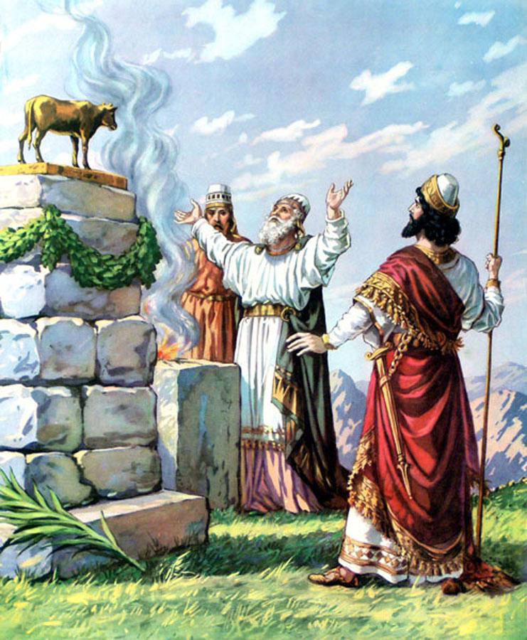 Jeroboam II, son of Jehoash (alternatively spelled Joash), continued to do evil in the eyes of the LORD and did not turn away from any of the sins of Jeroboam son of Nebat, which he had caused Israel to commit (2 Kings 14:24).