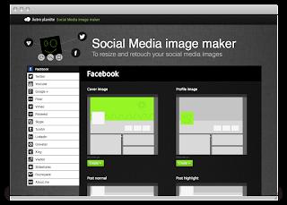 Una herramienta que redimensiona tus imágenes para las Redes Sociales