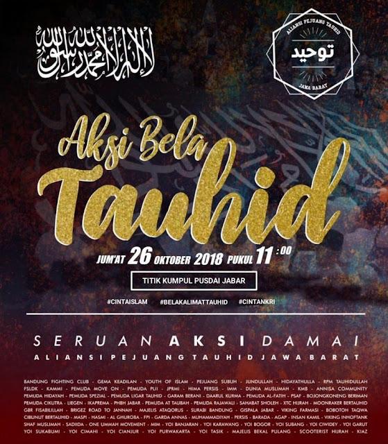 "Jumat Besok, Umat Islam Jabar Akan Gelar Aksi Besar-besaran ""Aksi Bela Tauhid"""