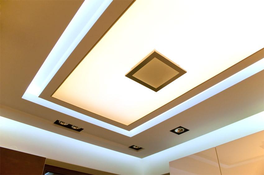 LEDowe inspiracje -> Kuchnia Sufit Led