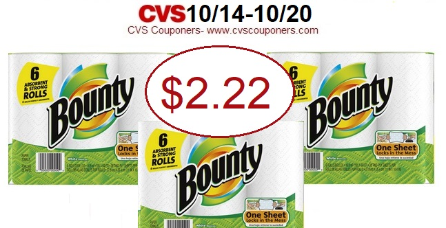 http://www.cvscouponers.com/2018/10/hot-bounty-paper-towels-only-222-at-cvs.html