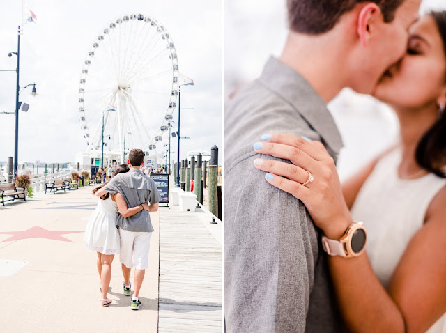 Proposal and Engagement Photos by Maryland Wedding Photographer Heather Ryan Photography
