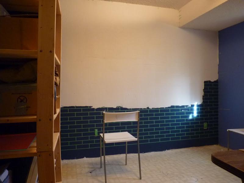 D I Y E S G N How To Make A Faux Exposed Brick Wall. Shocking Exterior Stucco  Wall Paint Interior ...