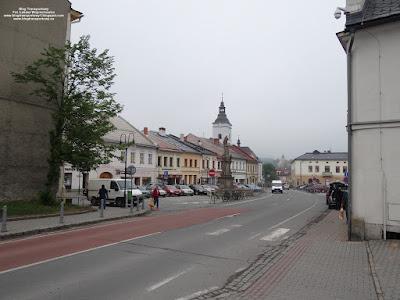 Jablunkov (Jabłonków), rynek