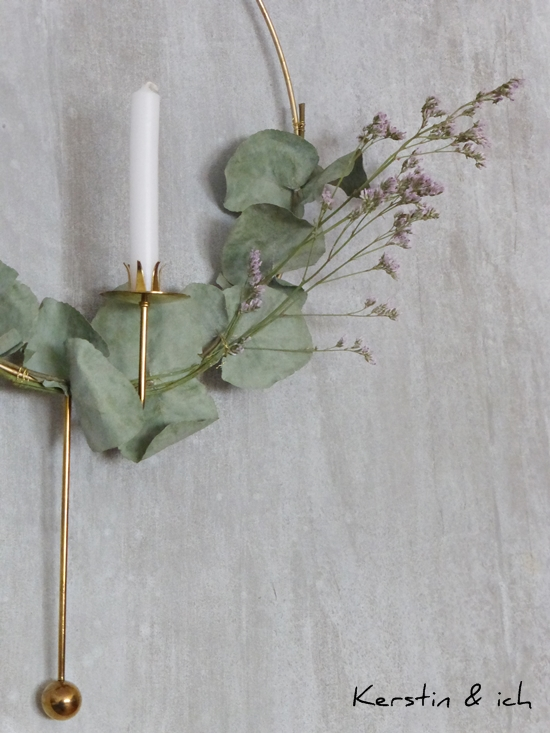 DIY Wreath with eucalyptus