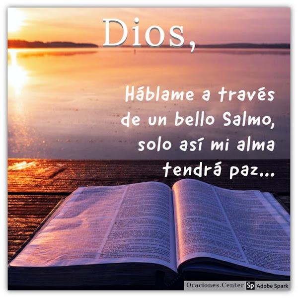 Oración y Salmo para Tranquilidad