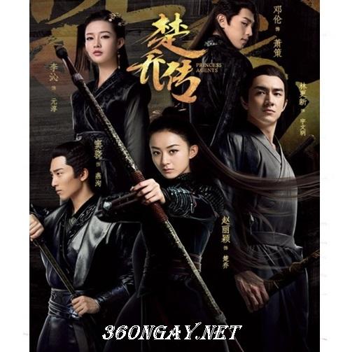 Phim Bộ Đặc Công Hoàng Phi Sở Kiều Truyện - Princess Agents (2017)