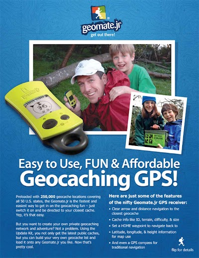Geomate.jr encourages family time, outdoor play; Great gift idea anytime of year