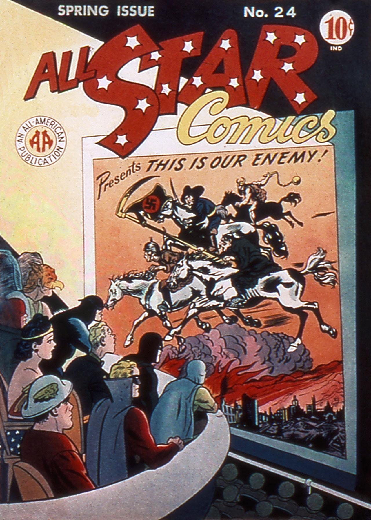 Read online All-Star Comics comic -  Issue #24 - 1