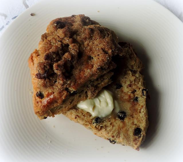 Irish Coffee Cake Scones