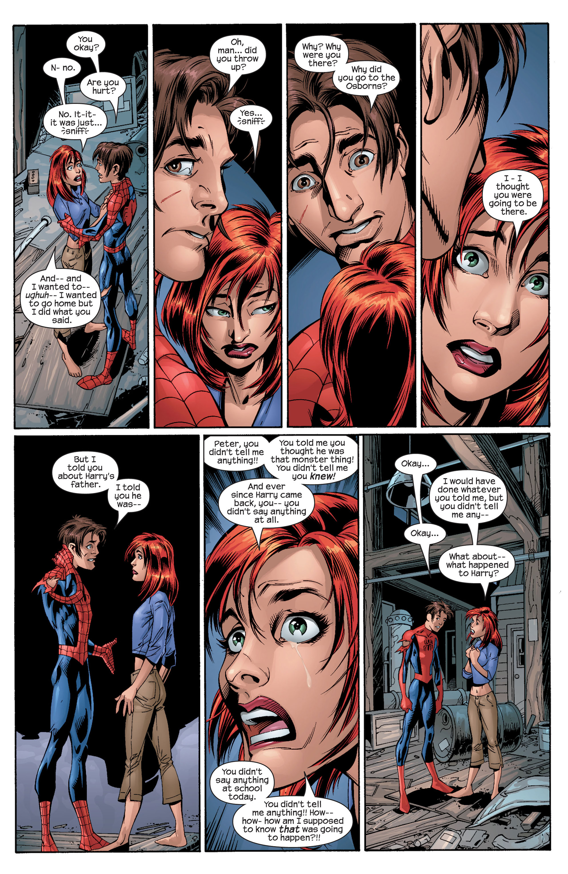 Read online Ultimate Spider-Man (2000) comic -  Issue #27 - 17