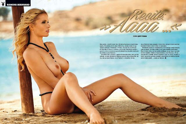 Ramona Bernhard naked photos - Playboy