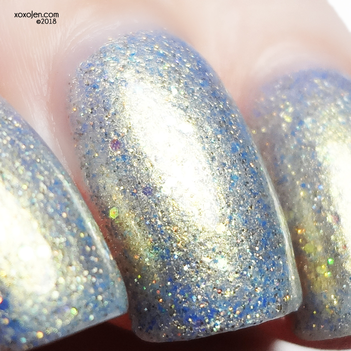 xoxoJen's swatch of Leesha's Lacquer: Mermazing