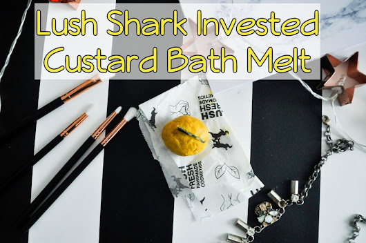 Lush Shark Invested Custard Bath Melt