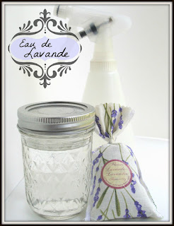 DIY lavender water for easy indoor kids activity