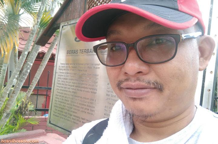 Beras Terbakar Tempat Shopping Langkawi