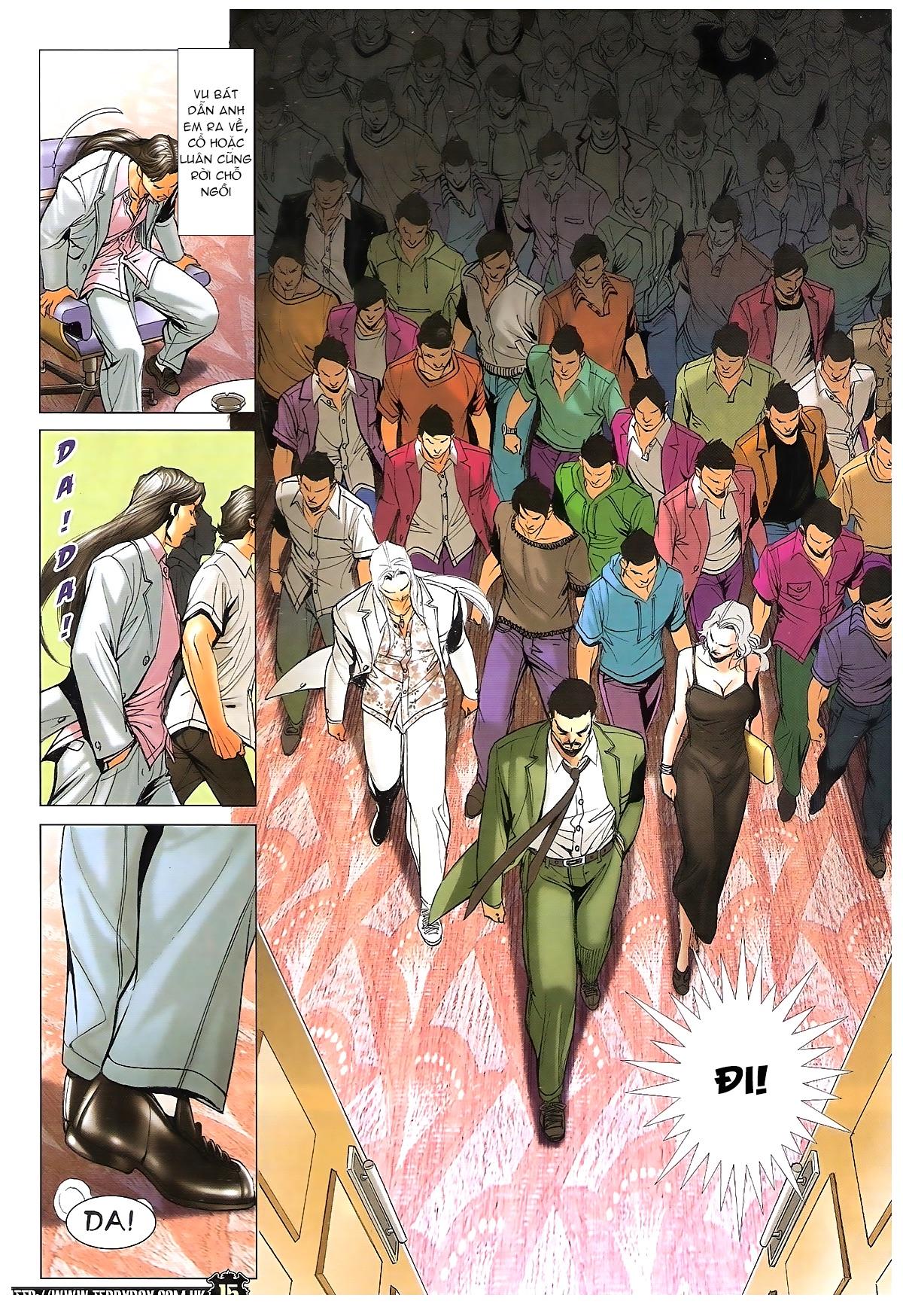 Người Trong Giang Hồ - Ngũ Hổ qui thiên - Chapter 1719: Hỏa thiêu Đông Anh - Pic 12