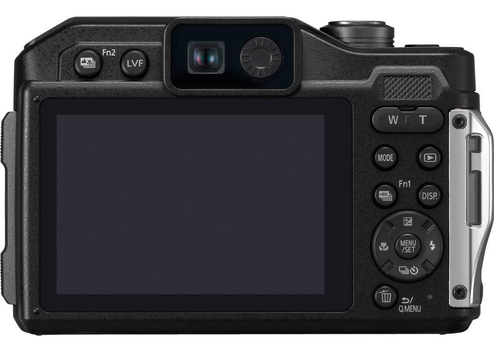 Panasonic Lumix FT7/TS7, вид сзади