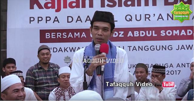 Ustad Abdul Somad Tanya Jawab di Mesjid Raya Bukit Maruga